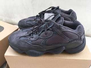 Yeezy 500 Black lokal pair - us 8.5 9
