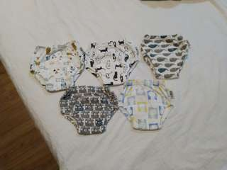 Potty train pants / swimming diapers