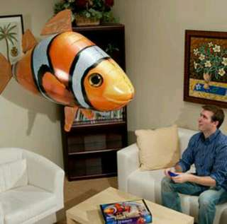 BRAND NEW-Remote control flying fish toy