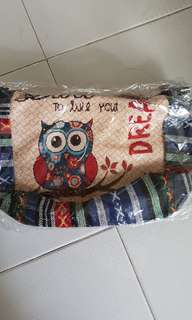 Owl Fabric bag