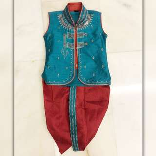 Indian Costume (Boy) - kurta pyjama