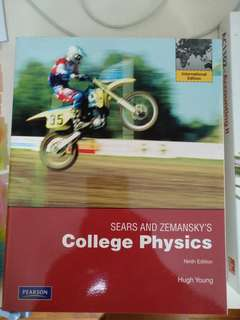 College physics sears and zemansky's