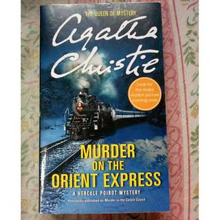 Murder in the Orient Express by Agatha Christie