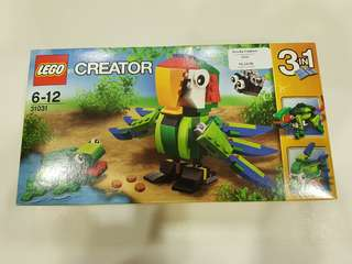 31031 Creator Rainforest Animals