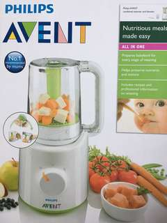 🚚 Philips Avent Combined Steamer And Blender