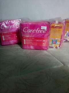 Carefree pantyliner 100's