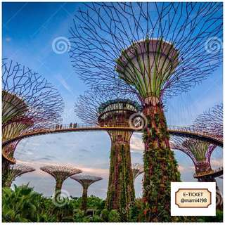 Garden By The Bay Etickets (2 Domes Included)