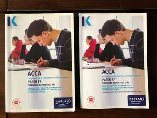 ACCA F7 Kaplan Text & Revision Kit