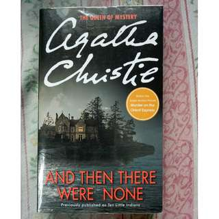 Anf Then There Were None By Agatha Christie