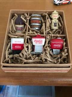 Coca Cola 珍藏版擺設一套
