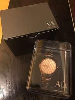 Armani Exchange Watch Rose Gold