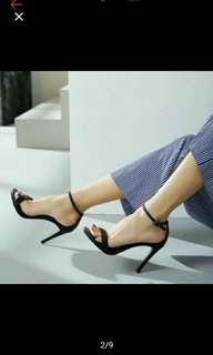 🚚 全新一字帶高跟鞋#女裝半價拉