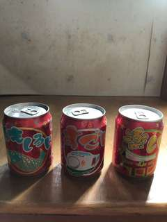 Coca cola超靚特別版日本風景汽水罐一套