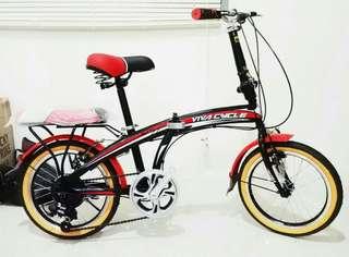 Sepeda lipat 16 inch