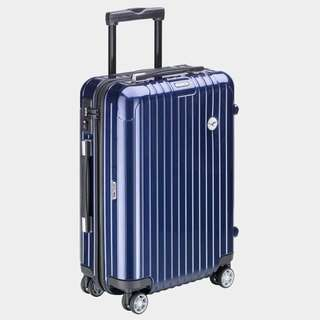 "LufthansaI x RIMOWA 22"" 1736322 Blau 頭等登機箱,鮮藍色的Deluxe,HKD5500😎"