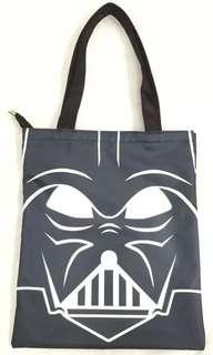 黑兵 黑武士 星球大戰 環保袋,出街拉鍊布袋
