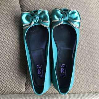 Sepatu flat shoes jelly
