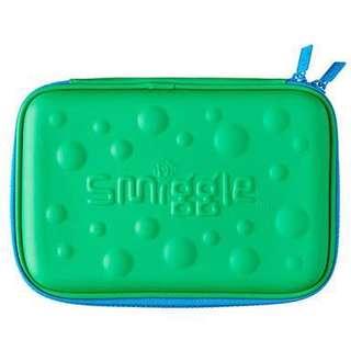 Smiggle Pencil Case Hardtop Bubble Green