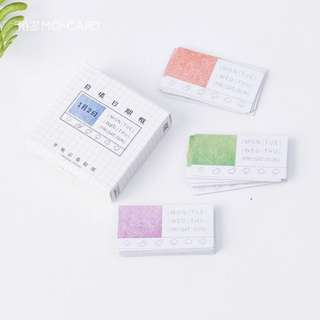 [PO] date box sticker pack