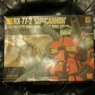 全新 HG 1:144 模型 - Gundam RX-77-2 GUNCANNON 鐳射大炮 (Bandai High Grade Gundam 高達 1/144)
