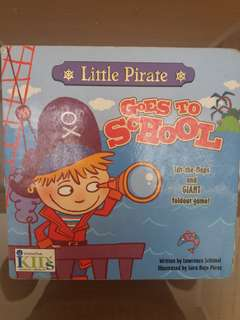 Little Pirate Goes to School