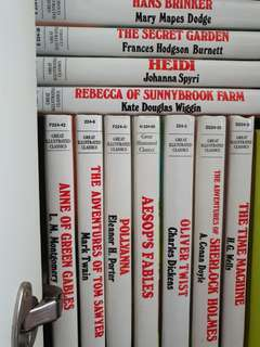11 FOR RM55 - HARD COVER CLASSICS