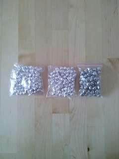 Metal Bells - Silver