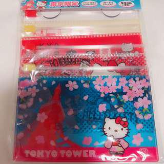 Tokyo Japan Exclusive- Hello Kitty Zip card holder