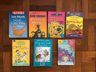 Early reader and chapter Children's books, Rudyard Kipling, Jacqueline Wilson etc
