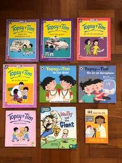 Topsy & Tim Children's English books, age 3-7 years