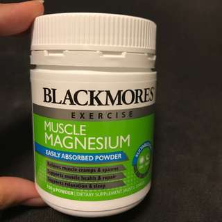 Blackmores Muscle magnesium