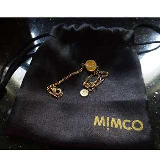 authentic mimco gold bracelet