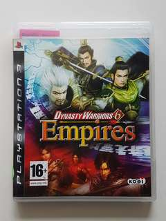 Ps3 Dynasty Warriors 6 Empires Game