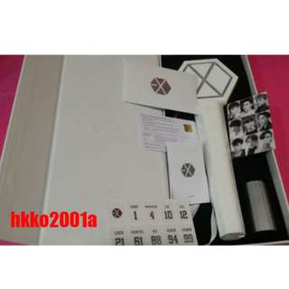 EXO OFFICIAL LIGHT STICK VER.3.0(WHITE) NEW VERSION IN SEOUL CONCERT