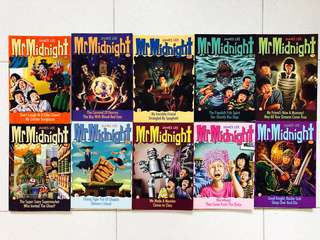 Mr Midnight series by James Lee