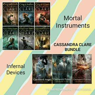 Cassandra Clare's Mortal Instruments and Infernal Devices