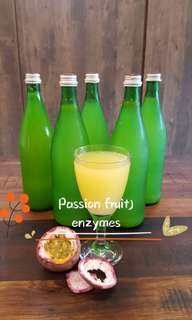 Passions Fruit Enzymes Juices