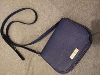 Kate Spade New York Navy Blue Sling Bag