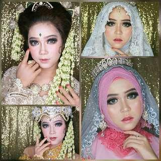 Makeup wedding only 1jt