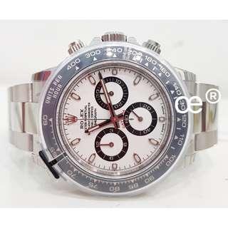 #July100 Rolex Cosmograph Daytona White Dial (PANDA) 116500LN