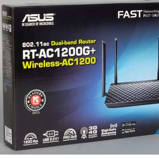 ASUS AC DUAL BAND ROUTER 1200 +.