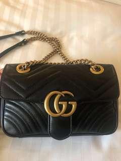 Authentic Gucci Marmont mini