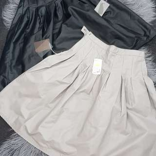 Forever 21 black and grey a line skirts Size 6