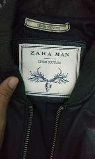 Zaket kulit zara man made in pakistan