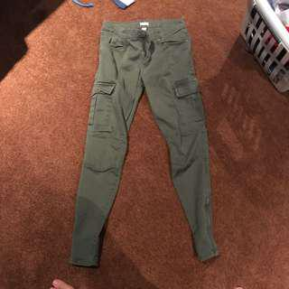 Army green pants !