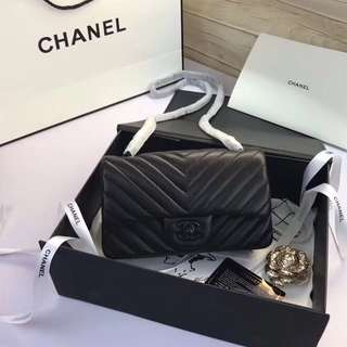 Chanel Mini Rectangular Chevron
