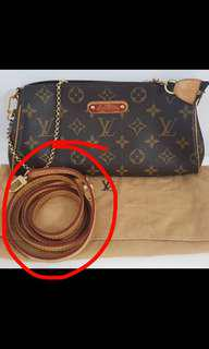 Looking for LV pochette monogram leather strap