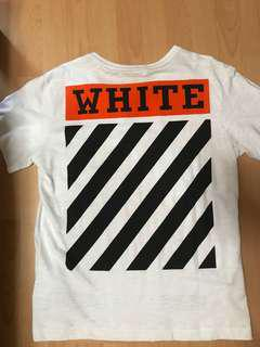 Off White Orange box tee