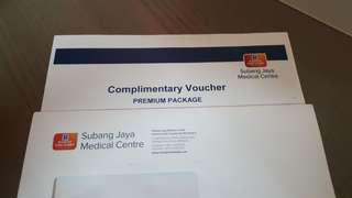 Full Medical Check up voucher SJMC