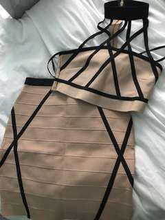 Missguided two piece bandage set